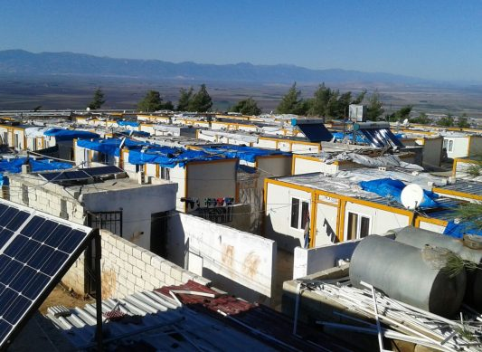 Refugees Camp in Northern Syria