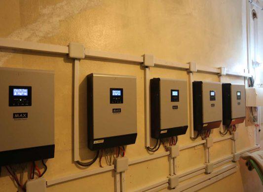 Hospital Operating On Solar Energy